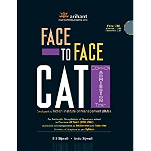 Face To Face CAT Common Admission Test