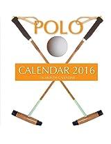 Polo Calendar 2016: 16 Month Calendar