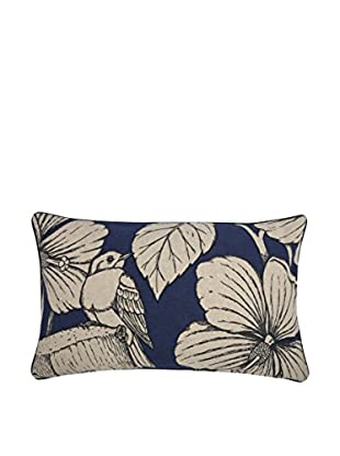 Thomas Paul Hibiscus Pillow, Indigo