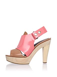 MARNI Women's Slingback Platform Sandal (Ambra Pink Candy)