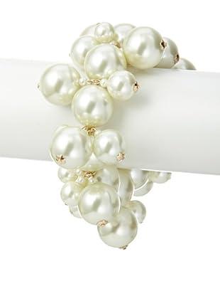 Kenneth Jay Lane Cluster Stretch Bracelet