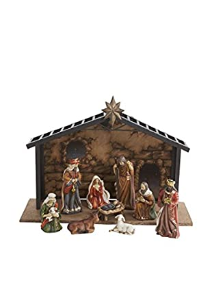 Kurt Adler 10-Piece Nativity Set