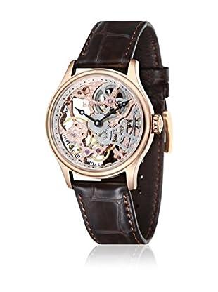 Thomas Earnshaw Uhr mit Handaufzug Bauer ES-8049-03 braun 42 mm
