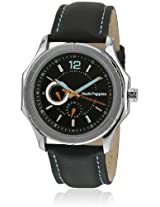 Hp.7083M.2502 Black Analog Watch