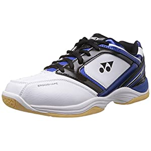 Yonex White/Blue/Black Badminton Shoes