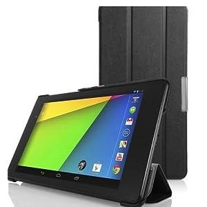"""Elite Ultra sleek Magnetic Flip Case for Lenovo S8 S8-50 8"""" Tablet (Black)"""