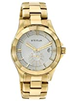 Titan Regalia Analog White Dial Men's Watch - 1626YM01