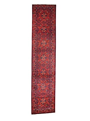 Bashian Rugs Hand-Knotted Afghan Rug, Red, 2' 8