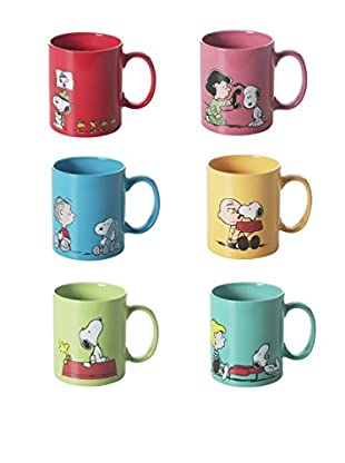 Brunch Time Becher 6er Set Snoopy
