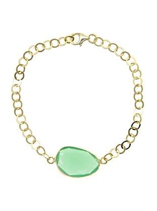 Córdoba Joyeros Pulsera Luxury Thais Piedra Verde