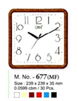 Ajanta Simple Clock Model 677