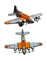 Shan Ms489 Collectible Tin Toy Plane