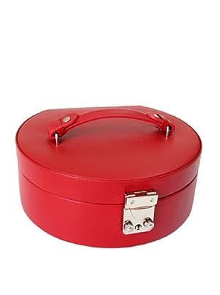 Morelle & Co. Linda Half Moon Jewelry Box (Red)