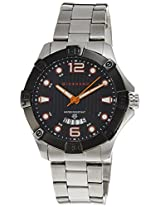 Giordano Analog Black Dial Men's Watch - 1536-77