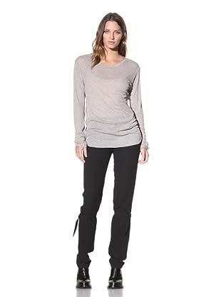 Ann Demeulemeester Women's Long Sleeve Top (Dust)