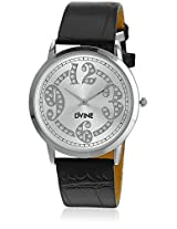 DD8076WT01 Black/White Analog Watch Dvine