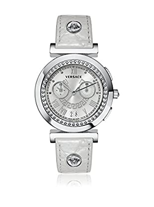 Versace Uhr mit schweizer Quarzuhrwerk Vanity VA9020013 perlgrau 41 mm
