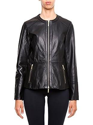 Michael Kors Lederjacke Waisted Leather Jacket