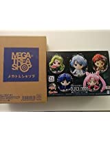 Megahouse Petit Chara: Sailor Moon (Black Moon Version) Mini Figure Set Statue