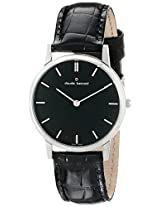 Claude Bernard Analogue Black Dial Women's Watch - 20060 3 NIN