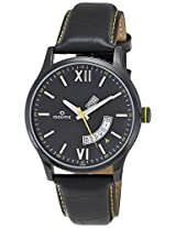 Maxima Attivo Analog Black Dial Men's Watch - 30520LMGB
