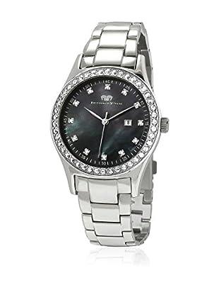 Rhodenwald & Söhne Uhr mit Japanischem Quarzuhrwerk 10010040 silberfarben 38  mm