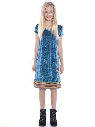 Custo Vestido Aminity (Azul)
