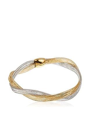 Gold & Diamonds Armband 18 Karat (750) Bicolor