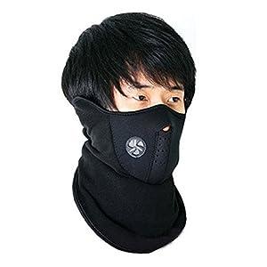 Generic (unbranded) Neoprene Half Face Bike Riding Mask (Black)