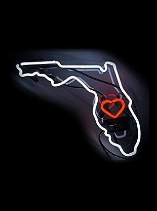 Oliver Gal Florida Neon Sign, Multi