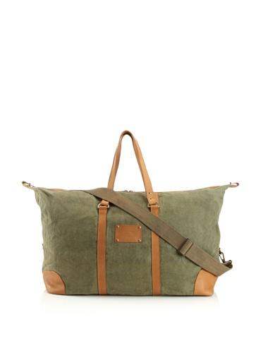 Jamie Young Handbags Women's Jitney Duffle Bag (Olive Vintage Canvas)