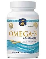 Nordic Naturals, Omega-3, 1000 mg, 60 Fish Gels