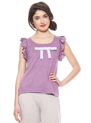La Casita de Wendy Camiseta Lisos (morado)