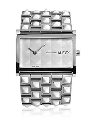 Alfex Quarzuhr 5695_770 40 mm versilbert