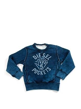 Diesel Kid Pullover (Blau)