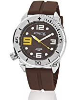 Q&Q Analog Brown Dial Men's Watch - DF02J315Y
