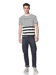 French Connection Men's Richter Resin Denim Jeans (Resin Antique)