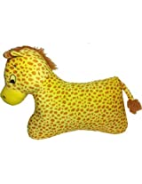 Soft Buddies Floor Pillow Giraffe Yellow - 15 inch high, 21 inch wide car rear tray table toy