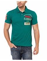 Elaborado Men's Polo T-Shirt, Jade Green, Small, EAIS9012JG1