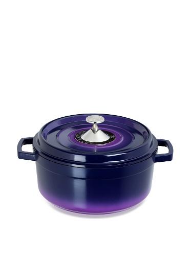 Art & Cuisine Cocotte Series Cast Aluminum Round Soup Pot (Purple)