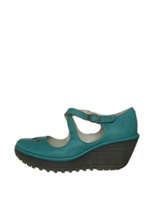 Fly London Zapatos Yate (Turquesa)