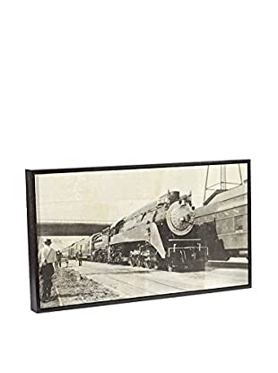 Chris Dunker for Phylum Design Train B, Encaustic Photograph