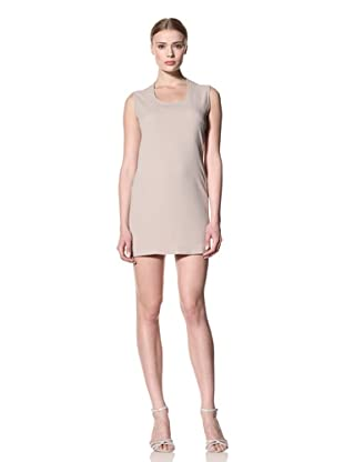 Calvin Klein Collection Women's Dag Fitted Sleeveless Dress (Sand)