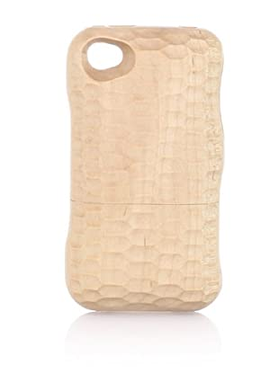 Real Wood iPhone 4/4S Case, U-shaped Knife, Maple