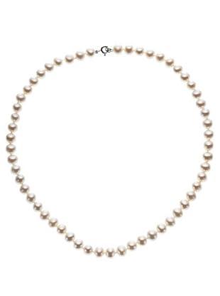 Emi Kawai Kette Perle Weißgold 18k 7-7,50 mm