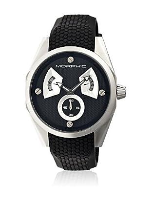 Morphic Reloj con movimiento cuarzo japonés Mph3402 Negro 44  mm