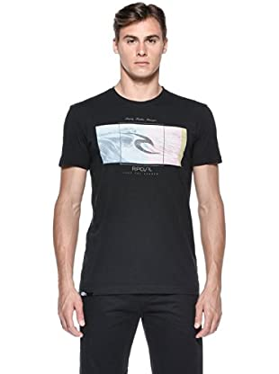 Rip Curl T-Shirt Mission S/S Tee (Nero)