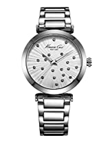 Kenneth Cole  Analog Silver Dial Women's Watch - IKC0018