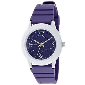 Sonata Fashion Fibre Analog Black Dial Women's Watch - NF8992PP02J