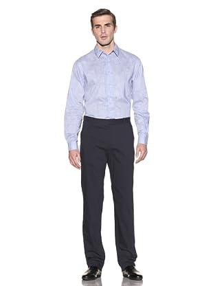 Elie Tahari Men's Max Pinstriped Pants (Navy)